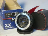 '  2x PKA Boxed ' Pentax PKA Fit 2X Converter Cased Boxed  £7.99